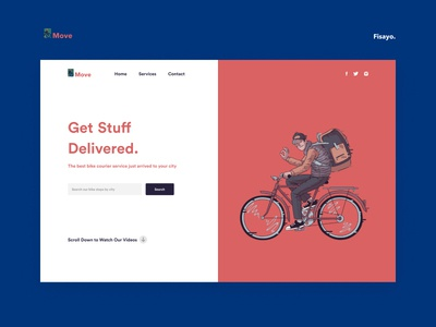 MOVE - Landing Page Design