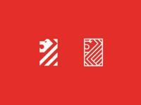 Lion logo, minimal logo