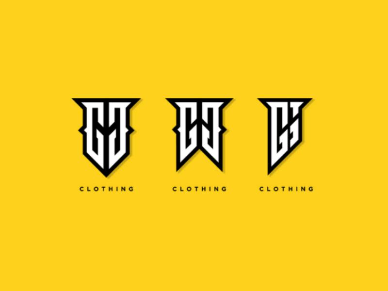Logo design, monogram logo illustration monogram