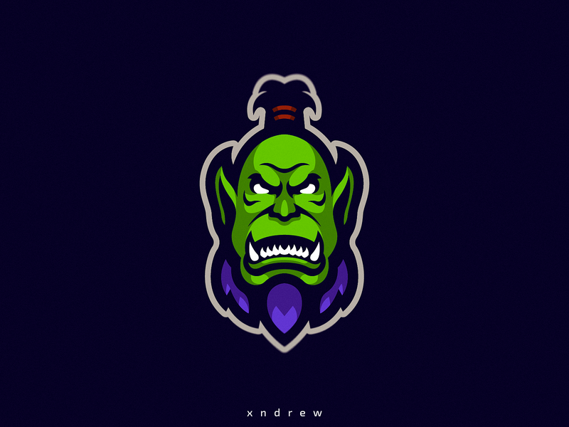 Orc by Xndrew on Dribbble