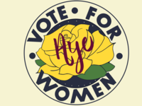 Suffragettes badge