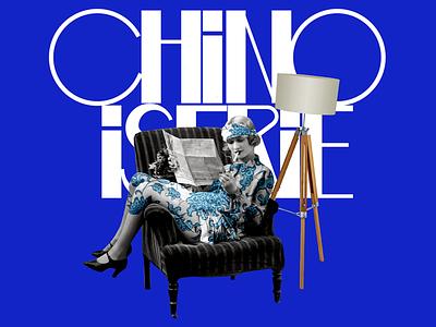 poster chinoiserie poster design poster collage graphic design design