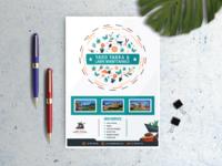 Yard takka  pamphlet design