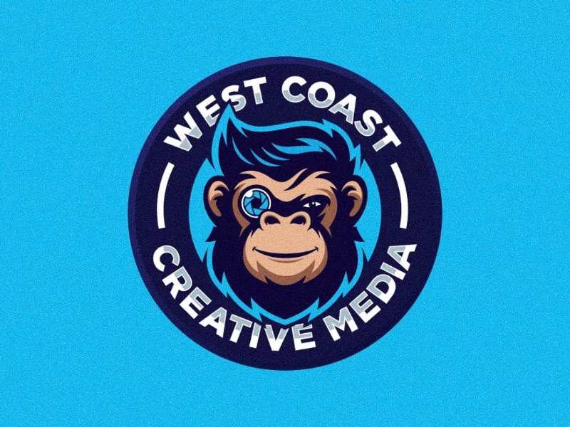 West coast creative media professional esport branding awesome logo designer designer minimalist modern logo design inspiration logo