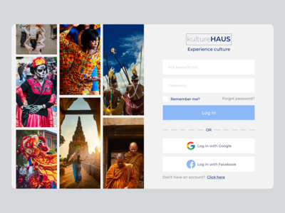 kultureHAUS travel agency (concept)