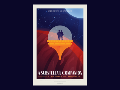 Space Travel Poster astronaut nasa outer space space exploration space travel travel shooting star stars planet universe spaceship space design illustration