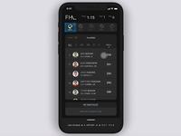 Fantasy Sports App: Queue