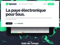 Epaye: la paye électronique pour tous.
