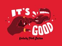 KFC its fingerlikin good 2