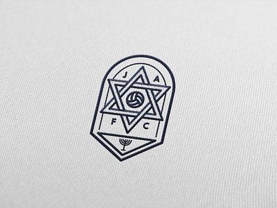 Football Badge badge logo football religions judaism