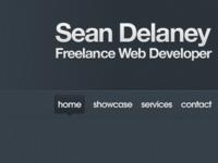 Redesign of seandelaney.ie