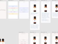 Aromatherapy app comps