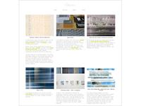 Website for textile designer