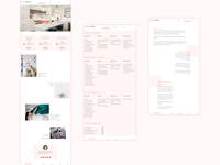 Comps for cleaning services website