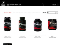 products page web comps