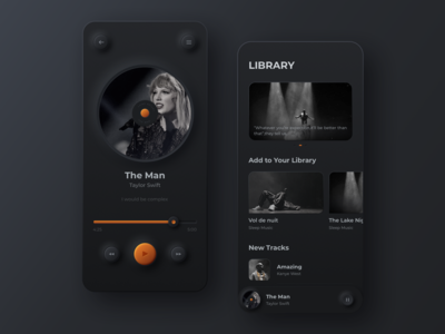 Soft UI > Music Player