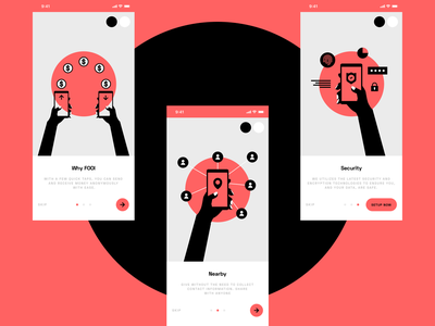 FOOi — Walkthrough web design web ux design ux ui design ui interaction inspiration brand design
