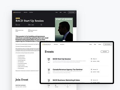 Prometheus — Events website web ux ui page minimal illustraion design colors app