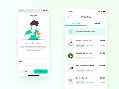Motusbank — Price Drop brand design inspiration purchase interaction bankingapp ui uidesign banking app ux uxdesign finance web fintech website