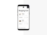 Qliving — Shopping Cart
