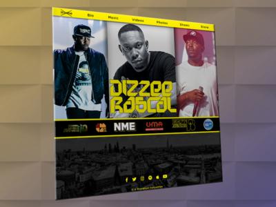 Dizzee Website