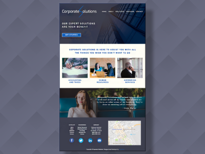 Corporate Solutions Web Design