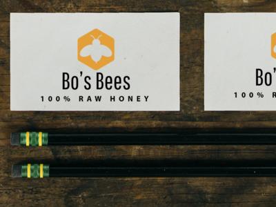 Bo's Bees Logo Mockup 02