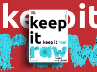 KEEP IT RAW | MAKE & LEARN | Poster 014 | 2018