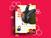 LET THE MUSIC PLAY   MAKE & LEARN   Poster 029   2018