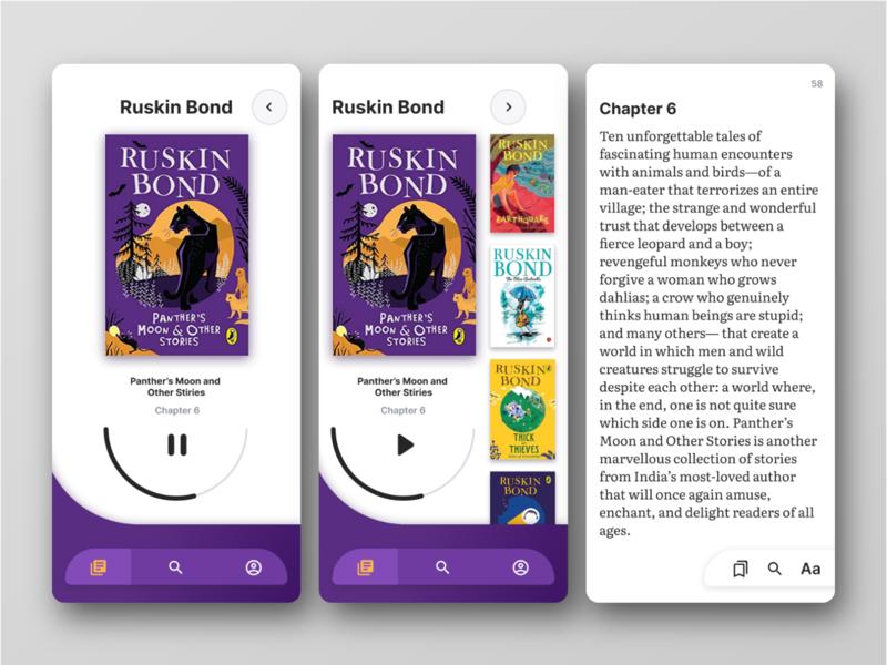 children ebook app typography uiux mobile ui mobileui mobile ux  ui design ux dailyui ui