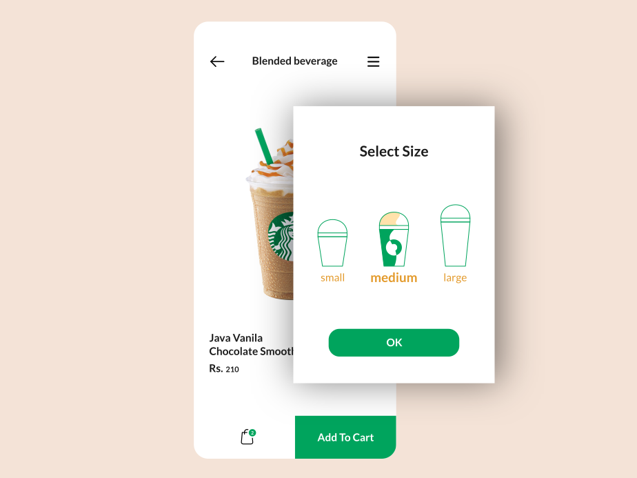 Pop-Up / Overlay popup branding mobile ux ui 16 dailyui