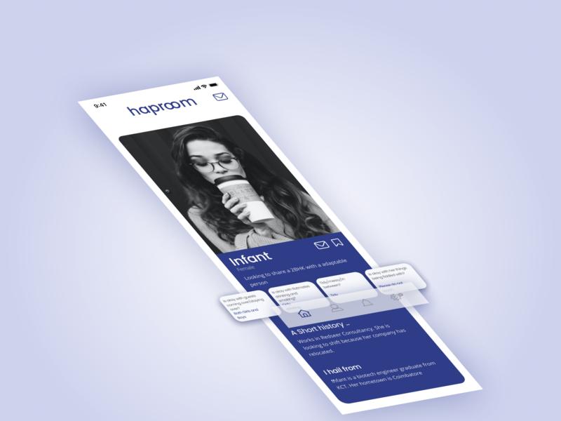 Haproom ux uxui ux design trust blue dailyuichallenge dailyui 021 dailyui021 dailyui uidesign ui design