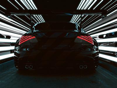 HyperRace hyperrace hyperdrive cars blender