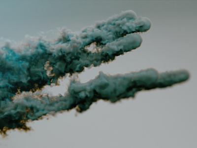 Flow cgi render creative clean motion smoke x-particles cycles4d c4d flow