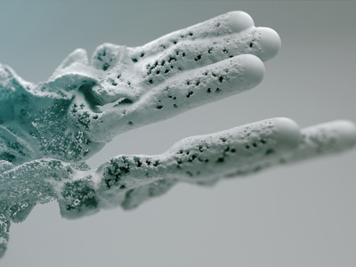 Flow cgi flow clean creative motion x-particles cycles4d c4d