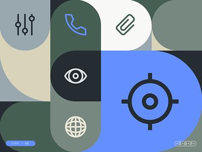 Core UI - Montage pattern montage ui iconset