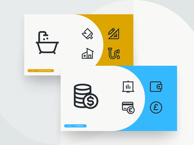 New CORE iconsets in progress iconset fintech money banking finance icongraphy icons construction