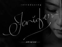 Jenifer Sign Script