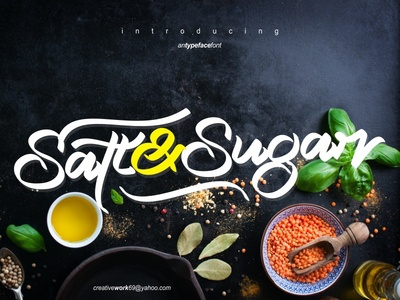 Salt Sugar New Typeface