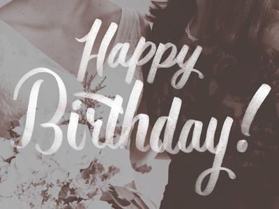 Happy Birthday Mommy ~ Happy birthday mom by kassie scribner dribbble