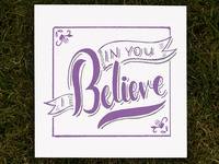 In You I Believe
