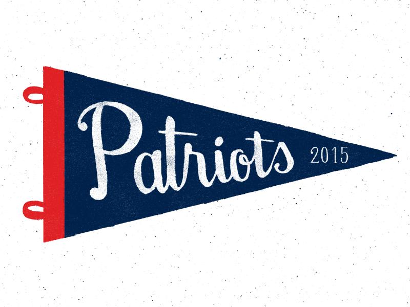 Patriots dribbble