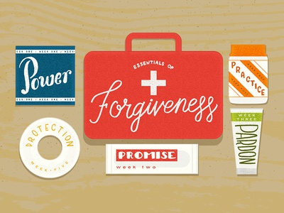 Essentials of Forgiveness Series Art