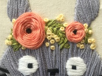 Totoro closeup