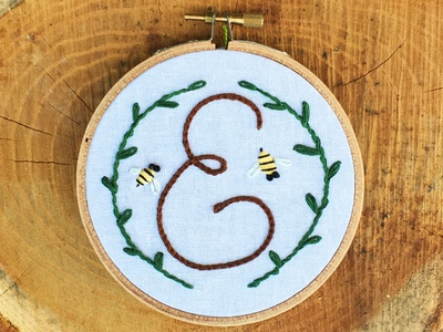 E & Bees Hoop