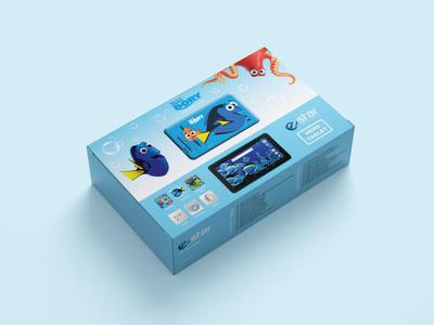 Hero Tablet packaging design