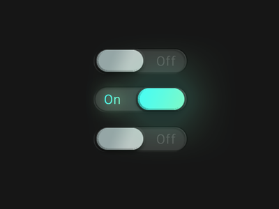 015 DailyUI On/Off Switch 015 switch onoff switch onoff off on 100 day project 100 day challenge 100 daily ui 100 challenge ux ui designe web dailyui