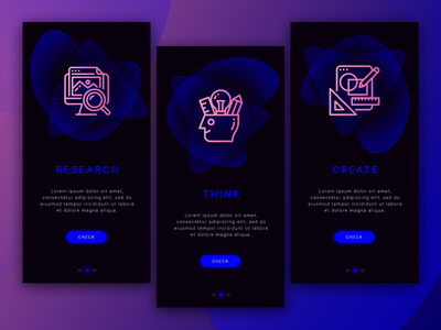 023 DailyUi Onboarding create research think onboarding 023 23 100 day ui challenge 100 day project 100 day challenge 100 daily ui 100 challenge designe ui ux web dailyui