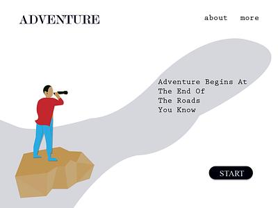 Adventure 01 gravit designer illustration