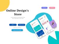 Online Designs store
